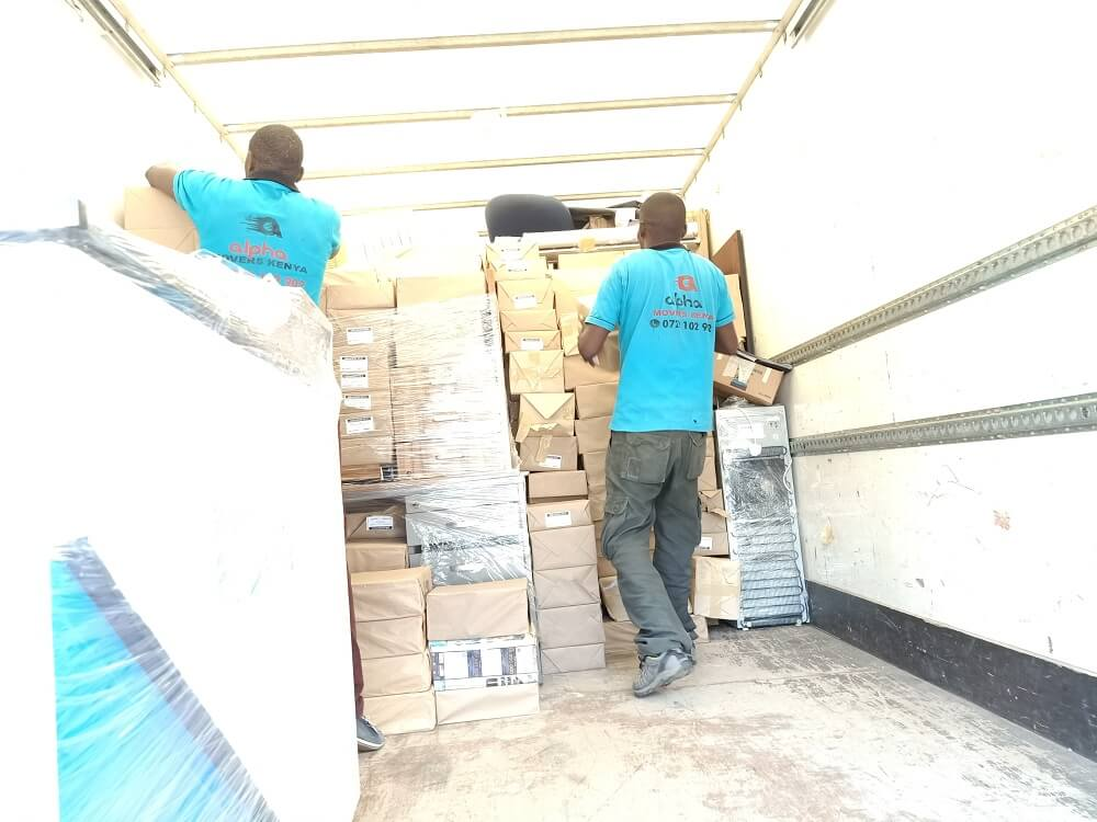 House Movers in Nairobi Kenya office moving services